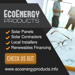 Ad for eco-energy products.